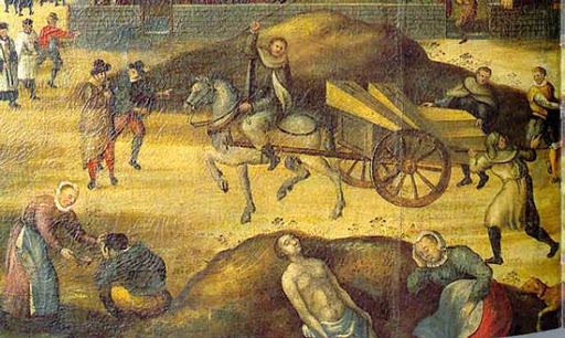Hoy quiero traer a colación la pandemia de Peste bubónica que arrasó España entre 1596 y 1600. Llegó al norte del país en un navío holandés que arribó al puerto de Santander. Se extendió como la pólvora por toda la geografía española, entre 1596 y 1602, matando a casi medio millón de personas. Se estima que en Castilla murió el 15 por ciento de la población, matando en lugares de mayor concentración demográfica como Madrid, a más del 30 por ciento de sus moradores. Y volvería en 1649, matando por ejemplo en Sevilla a la mitad de sus moradores. Al lado de este, el coronavirus es un bonachón, un guasón asusta viejos, jejeje.
